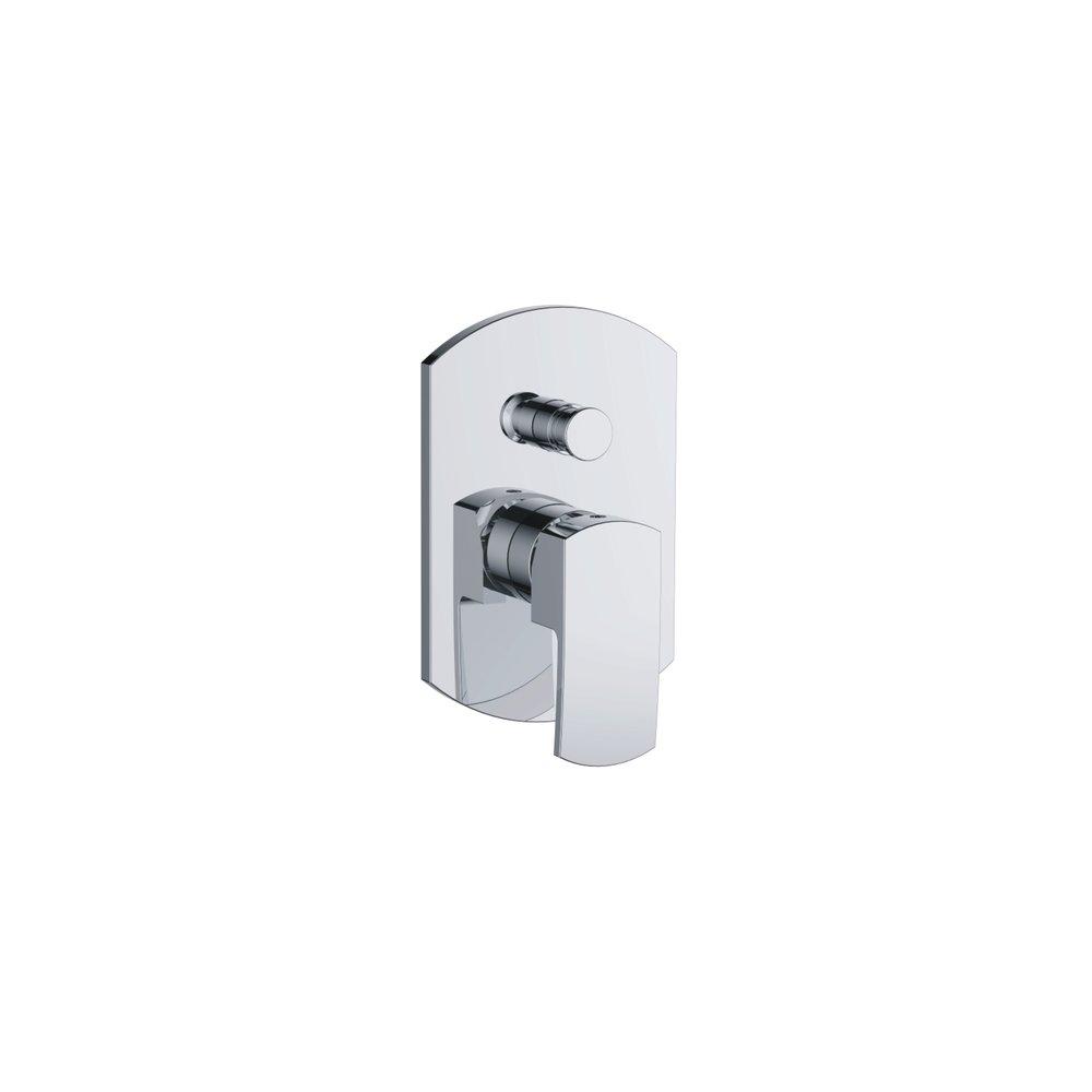 735-108: Concealed shower valve with diverter