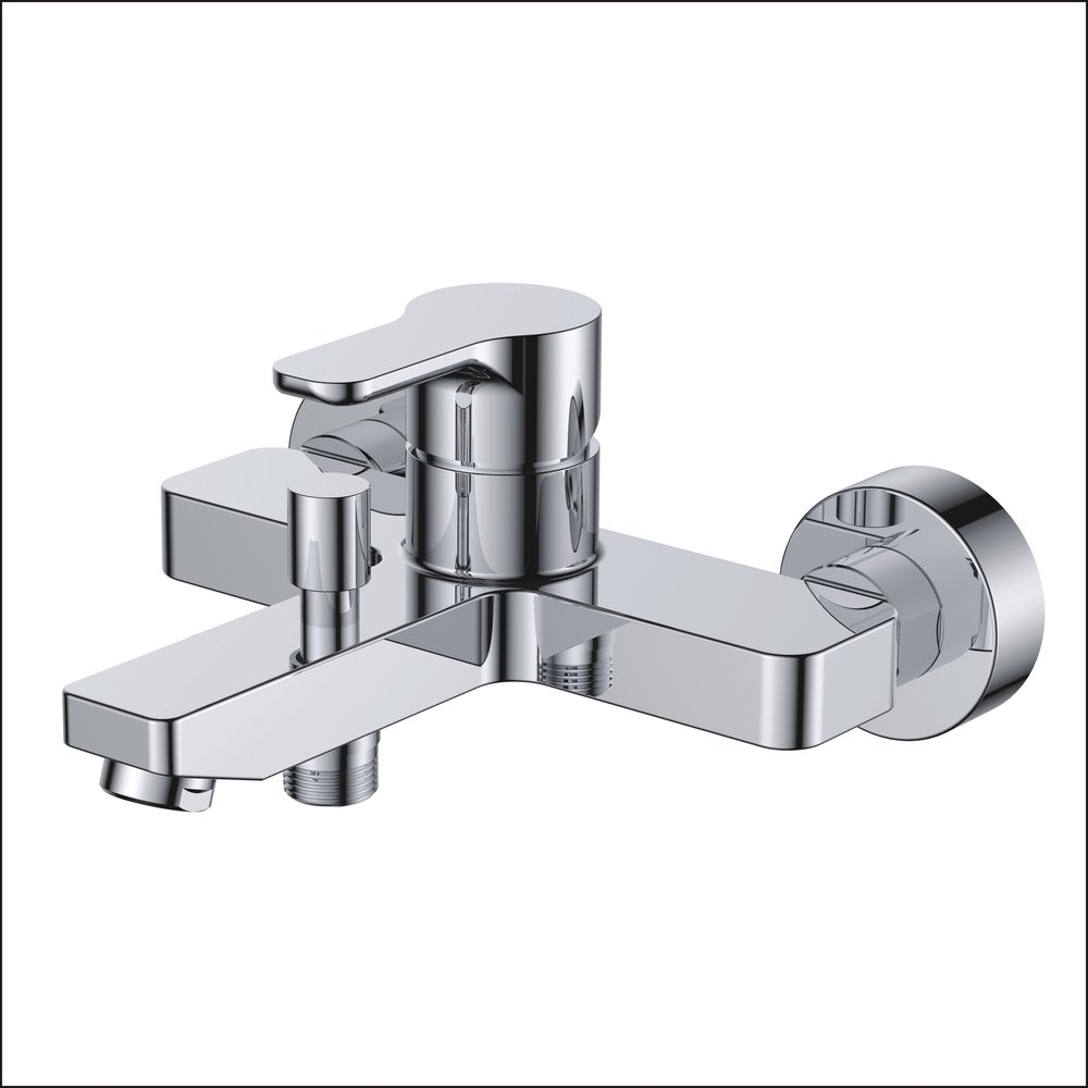 718-102:Wall mounted bath shower faucet