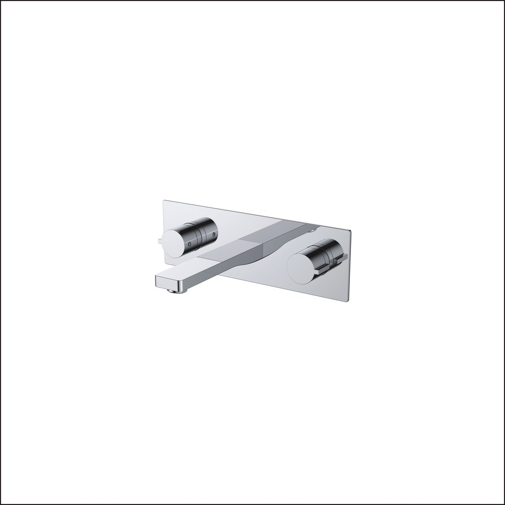 718-107:Wall mounted bath faucet