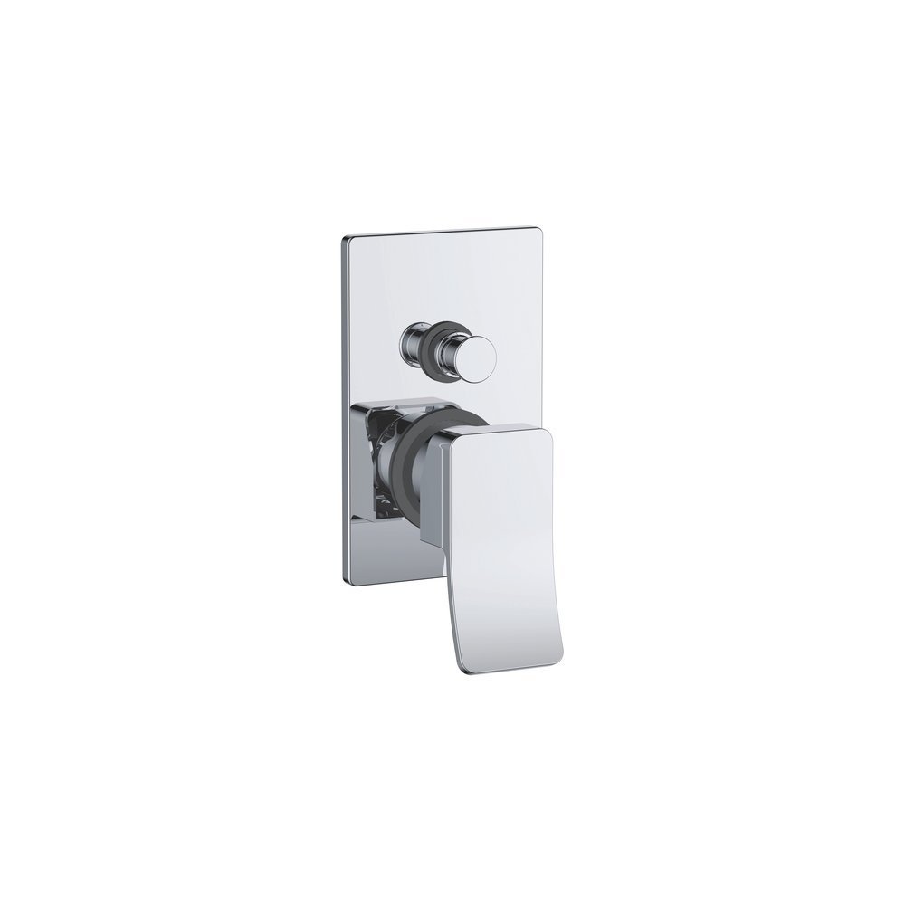 732-104: Concealed shower valve with diverter