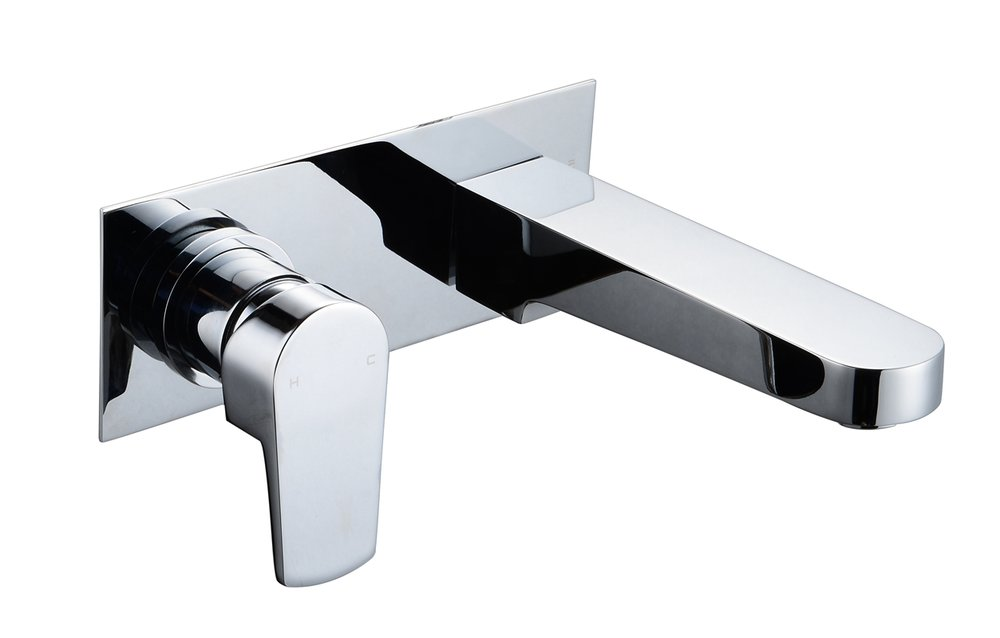 3902-104: Concealed shower valve with spout