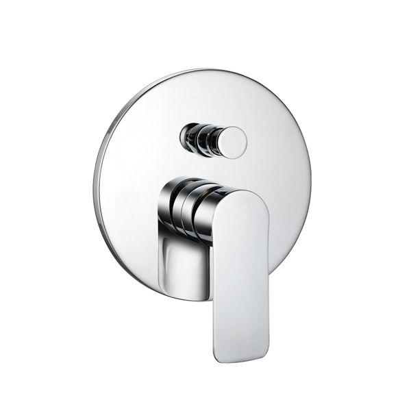 3521-107: Concealed shower valve with diverter