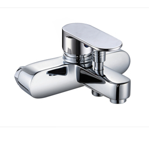 3004-102: Wall mounted bath shower faucet