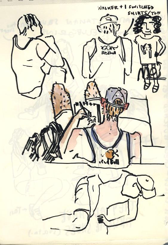 sketchbook scans
