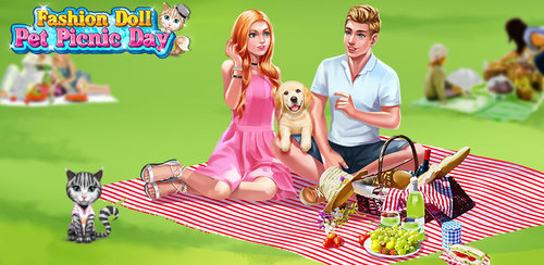 Fashion Doll - Pet Picnic Day  It's such a nice day outside today. Why not go for a fun picnic in the park on this lovely day? Bring your puppy with you to make it even better!