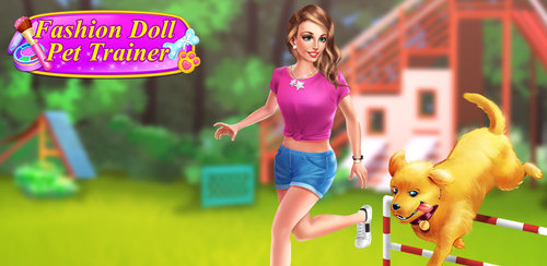 Fashion Doll - Pet Trainer  It's a nice day! Have a pet training, the pets will seems to be happy with these friends around!A casual outfit is perfect for the day! Go out and have fun with your pets.