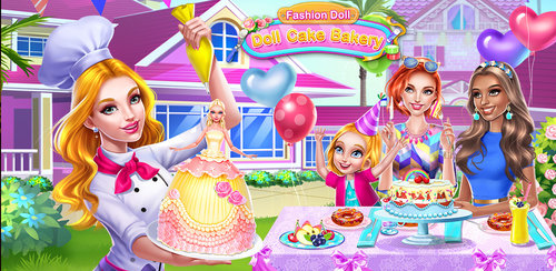 Fashion Doll: Doll Cake Bakery  It's your little sister's birthday and she's counting on you to treat her like a princess and celebrate her birthday in style!