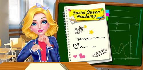 School Girl - Social Queen 1  The path to being the most popular teen in school starts with a fashion statement your friends won't forget! This fun high school game is the first in a series that will take you to the top of the social ladder at your academy.