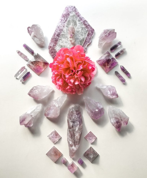 crystals with flowers.jpeg