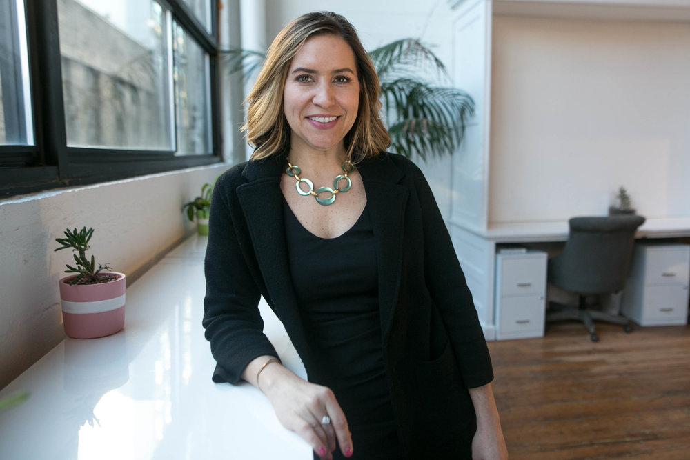 Carrie Maher, Head of Growth at The Riveter.
