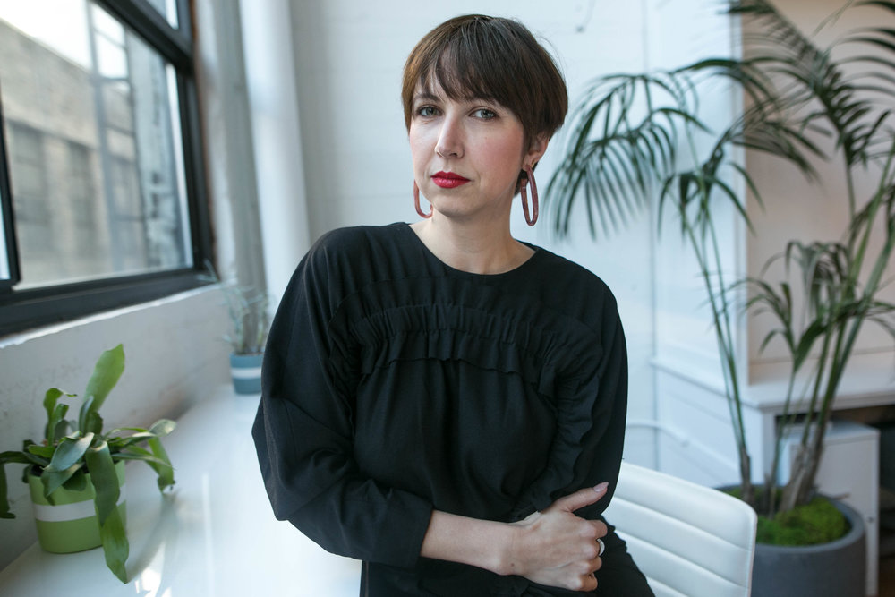 Jonna Bell, Head of Marketing for The Riveter.
