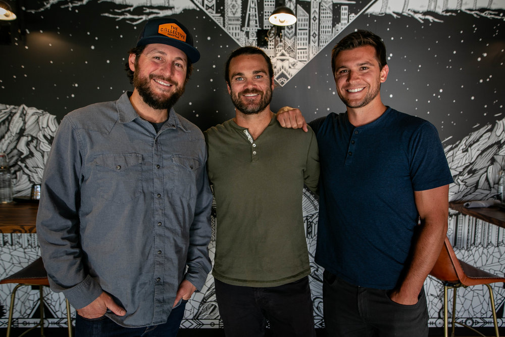Cofounders Alex Mondau (left) and Tommy Trause (middle)