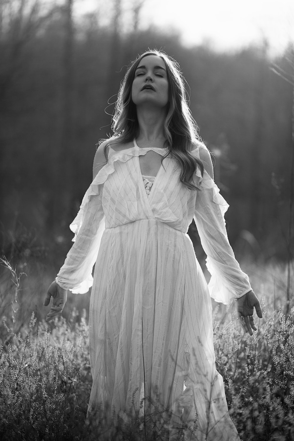"""""""Sometimes I need only to stand wherever I am to be blessed."""" Mary Oliver"""