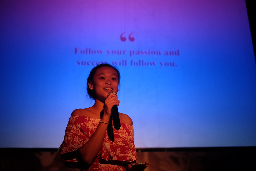 Thyme & Caramel speaking at Pecha Kucha Night Ubud