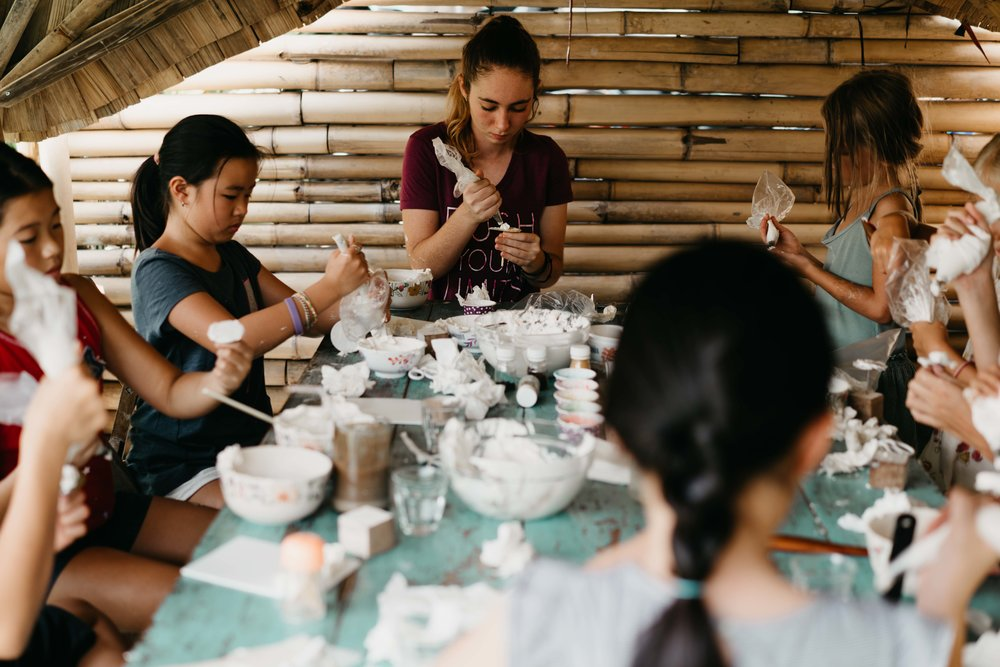 Cupcake Decor Workshop in Bali for Kids