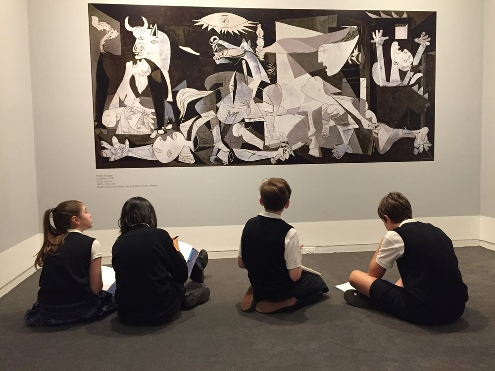 Reflecting on Guernica . . .