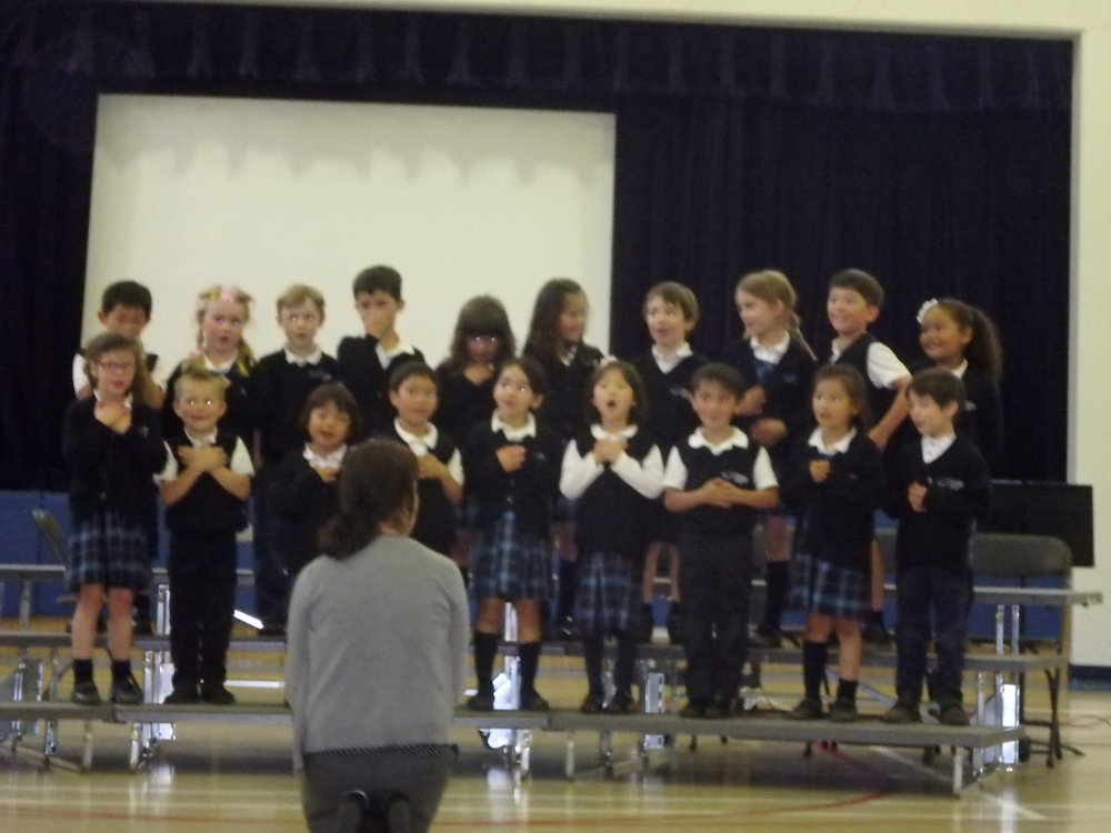 """Thank You Thank You"" Performed by Kindergarten"