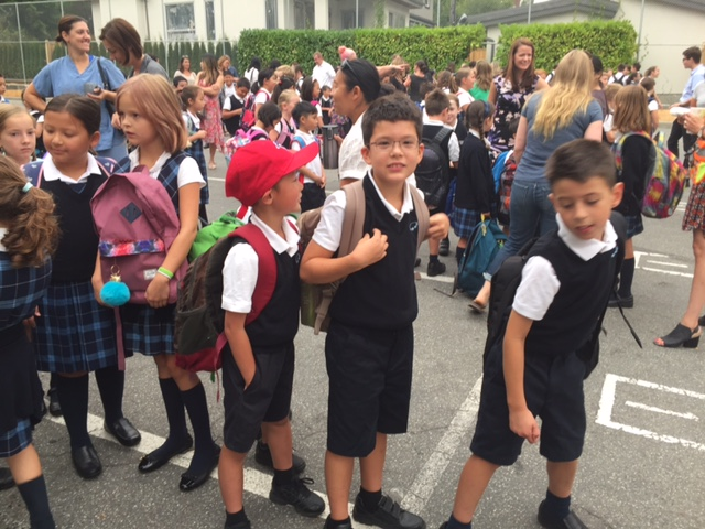 ICS Families Head Back to School . . .