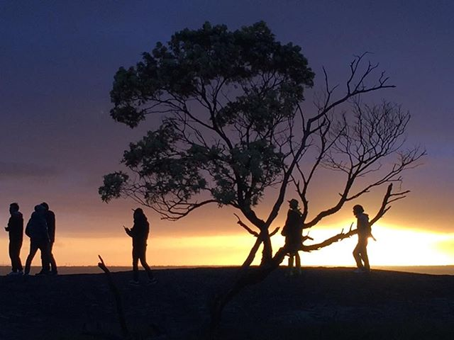 This would be my debut album cover ... if I was in a band lol #sunsets #youyangs