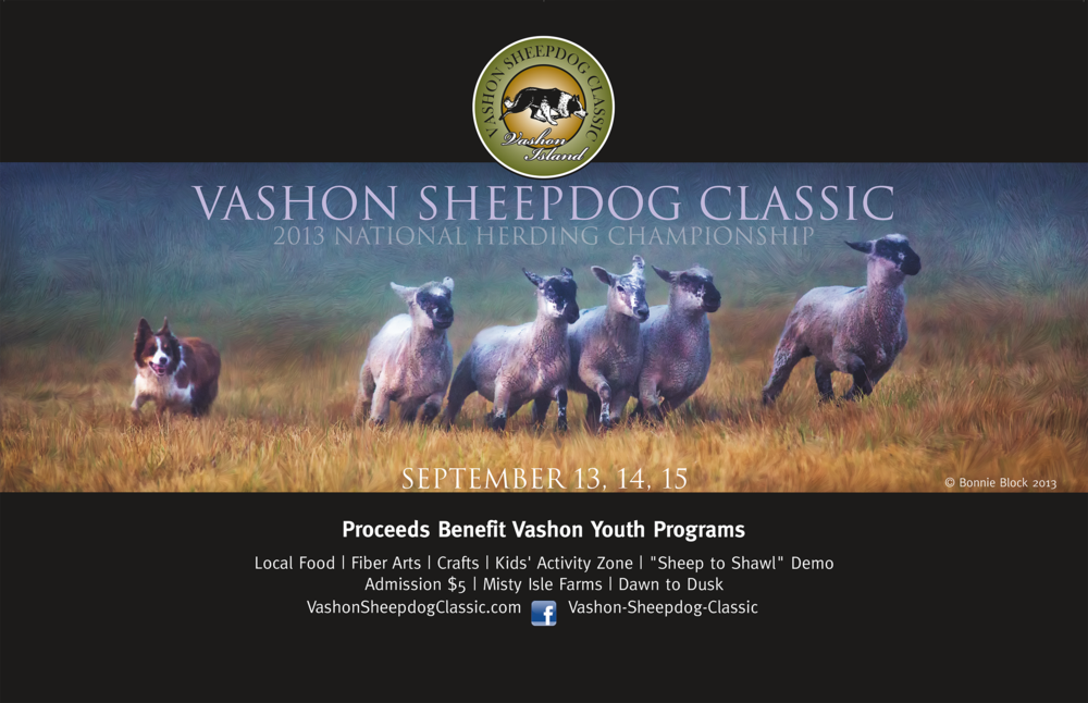 Vashon Sheepdog Trails | Poster