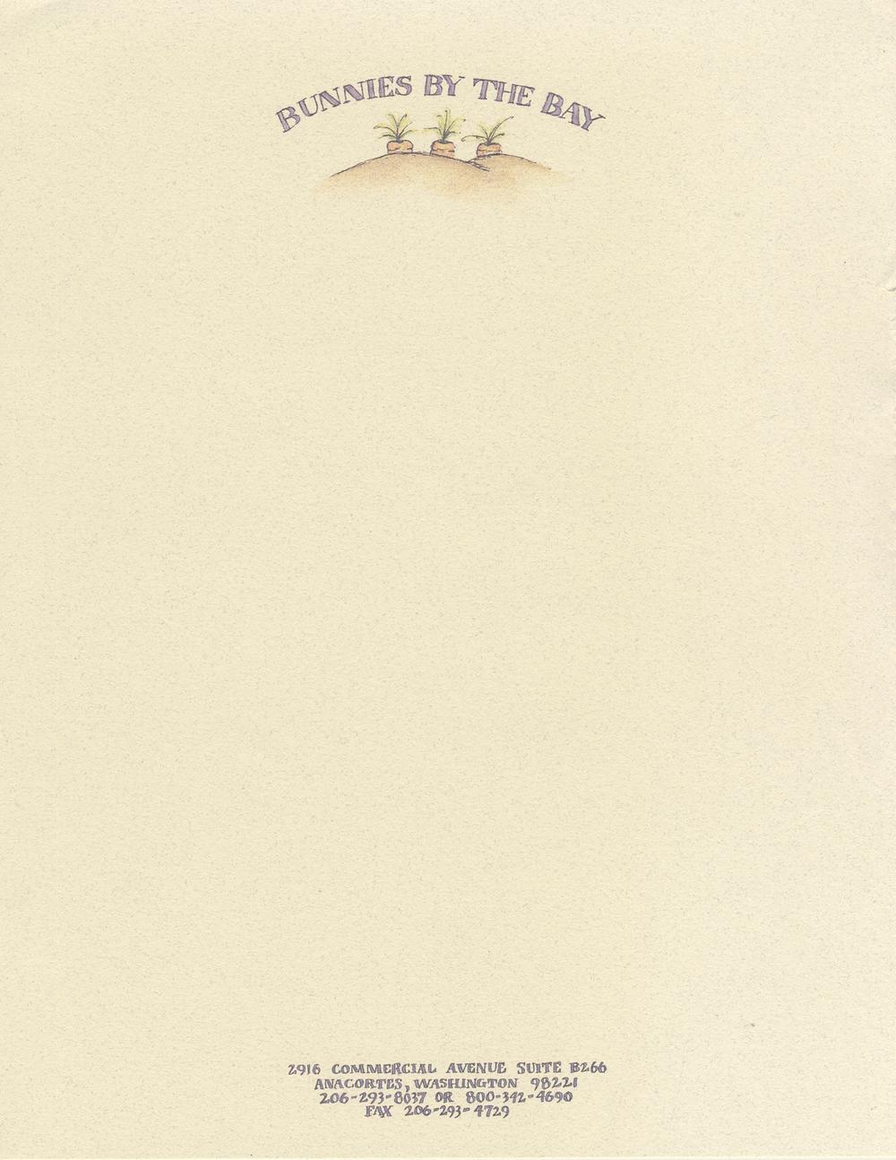 Bunnies By The Bay | Letterhead