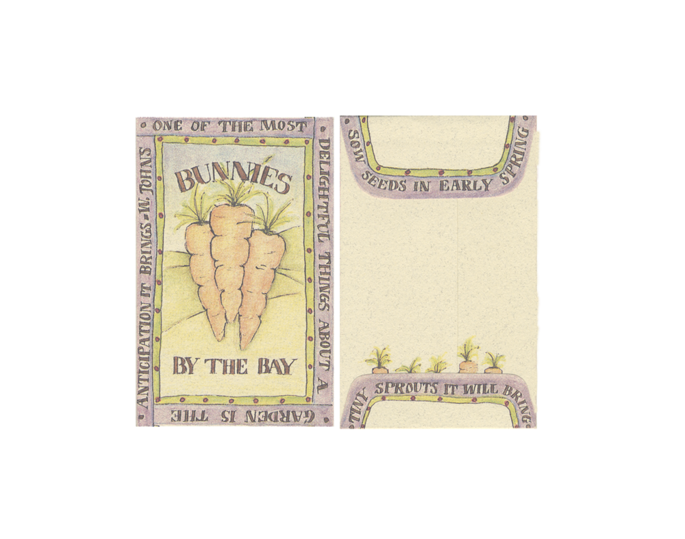 Bunnies By The Bay | Seed Packets