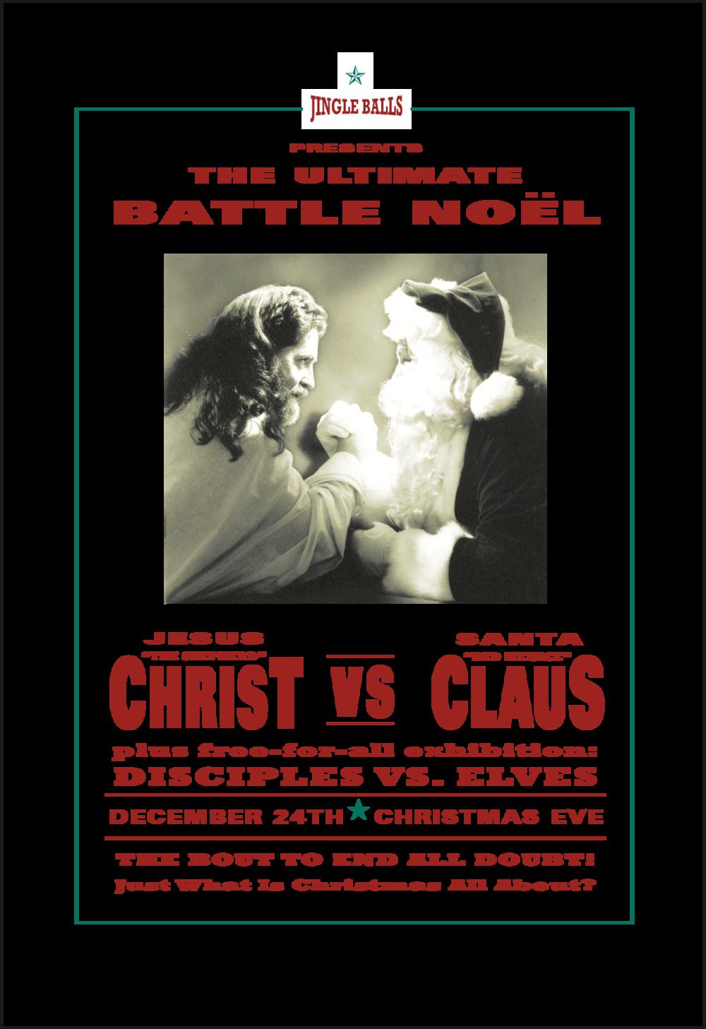 Christ vs Claus | Xmas Card