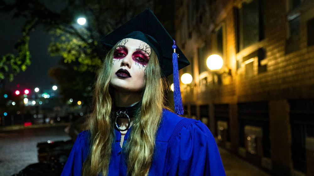 Unofficial Graduate Portrait taken by friend  Austin Gomez  2018.