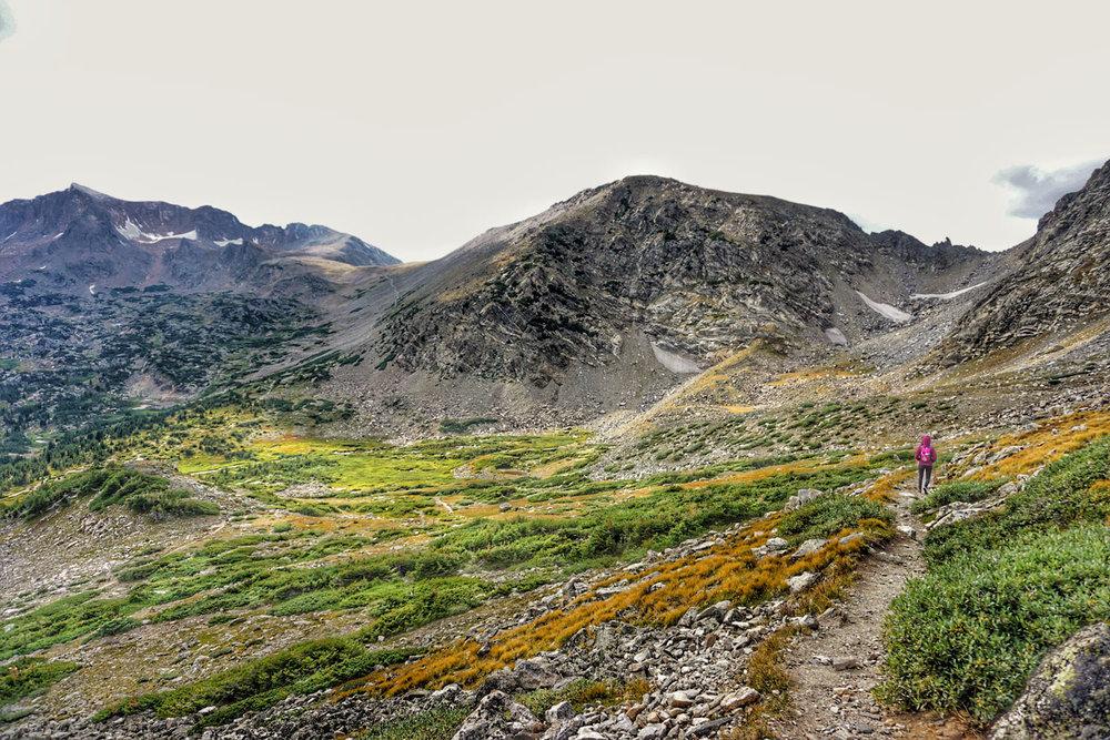 colorado glacier hiking