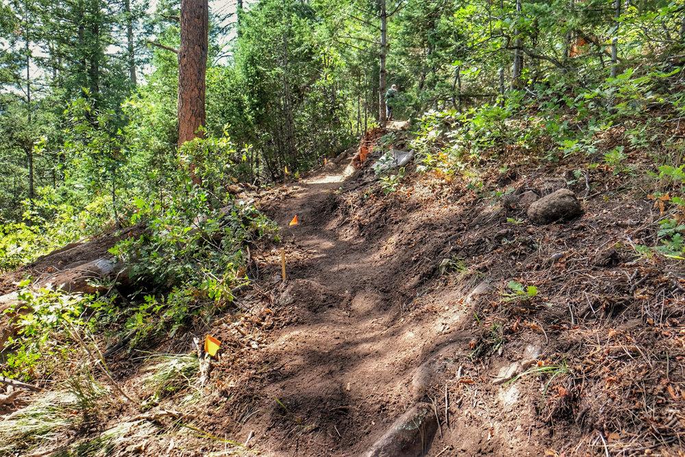 cheyenne mountain state park dixon trail work