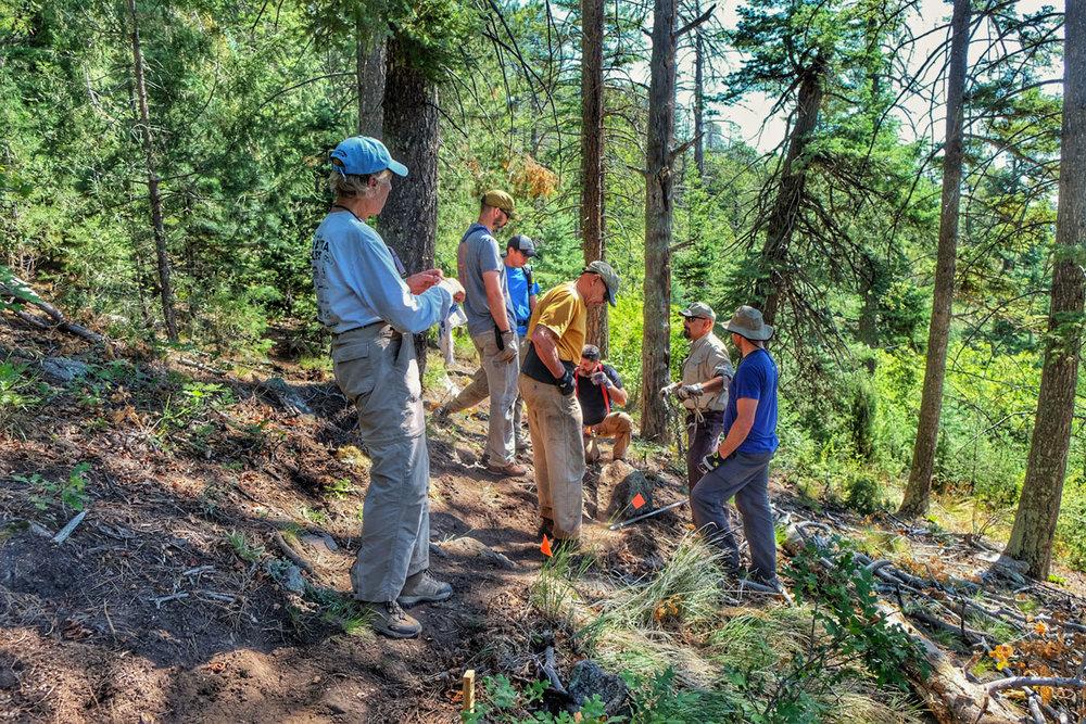 colorado springs hiking cheyenne mountain state park trail work