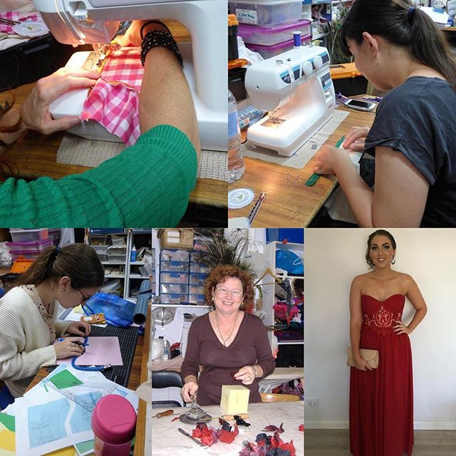 Hi everyone xmas break is over and the kids are back at school and the rain has gone, so now it is time to do something for you. You to can learn to make stunning gowns like Multi Supreme Award winning designer, Hester Jarvis of Ja Delle Designs I am putting together some new classes, in sewing, pattern making and millinery, so come into my shop at Kmart shopping centre Aitkenvale Townsville or give me a ring on 0403115584 so we can have a chat about the courses. Don't delay start now and you can enjoy creating amazing things for yourself and your family.👗👒🌸