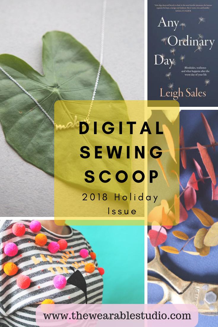 Digital Sewing Scoop Christmas