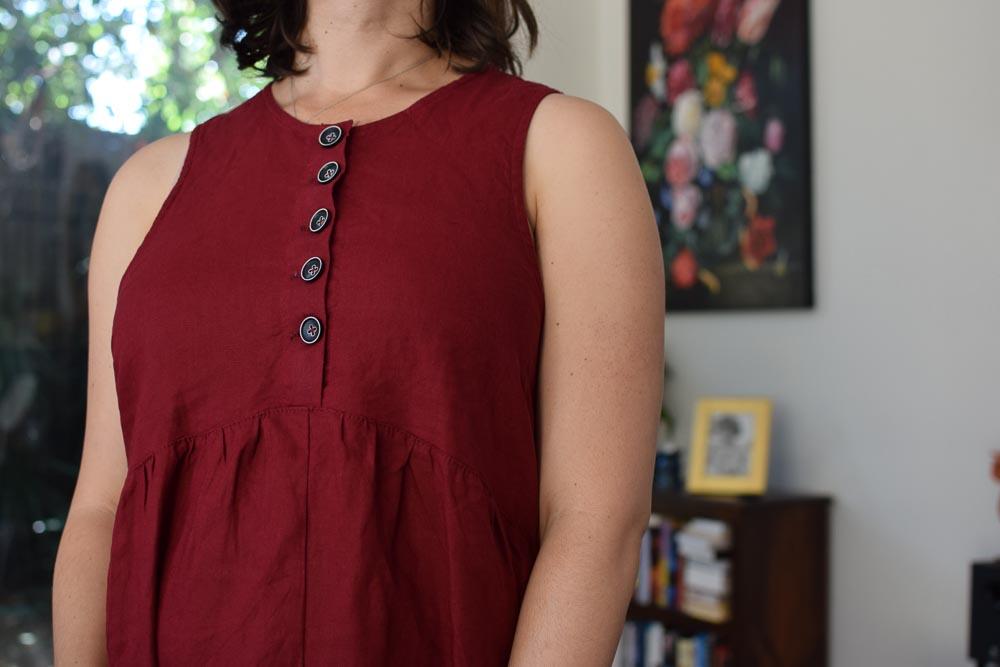 Lisa Dress by Tessuti Patterns Maternity