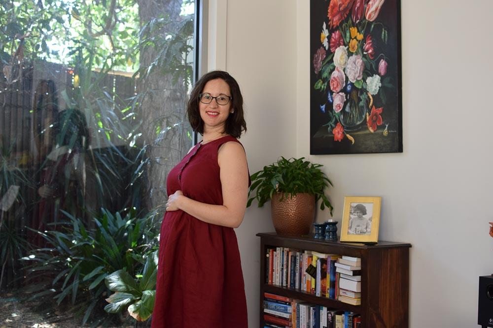 Linen Lisa Dress for Maternity -