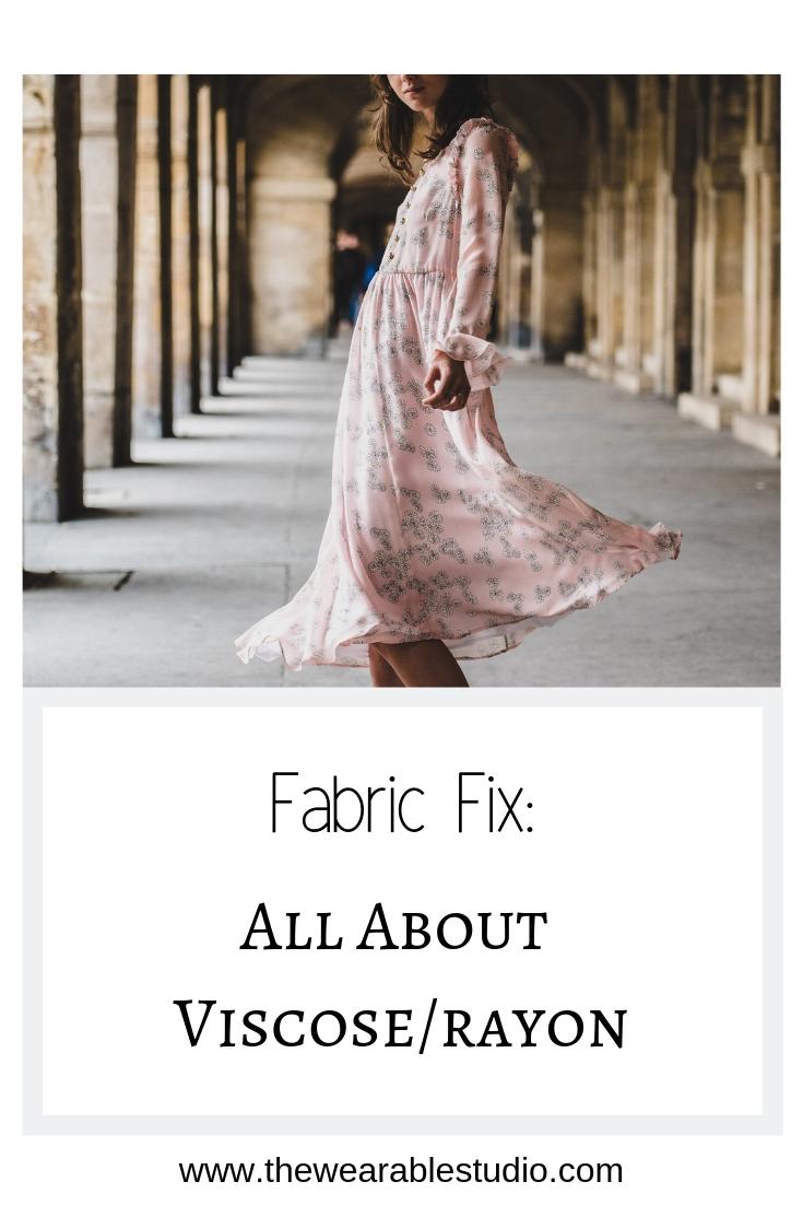 Fabric Fix All About Viscose Rayon