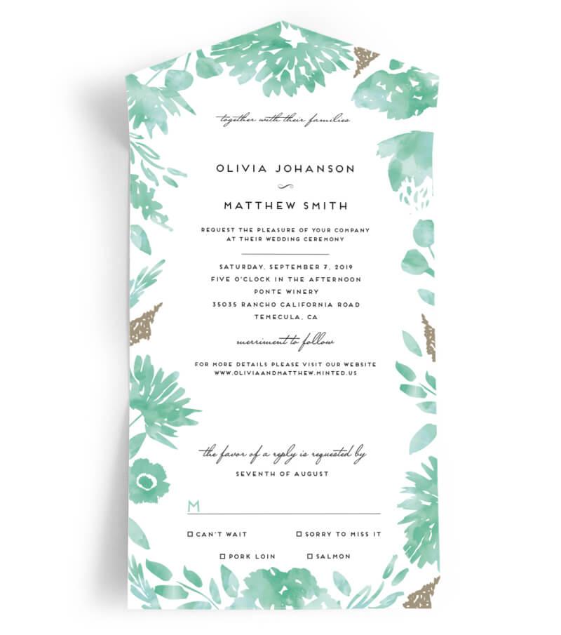 minted wedding invitations trendy bride fine art wedding blog