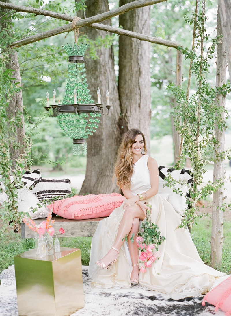wedding lounge styled shoot