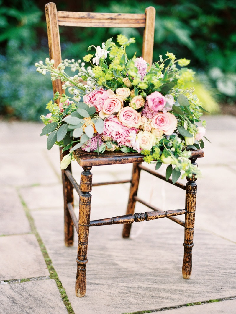 walled garden bridal inspiration