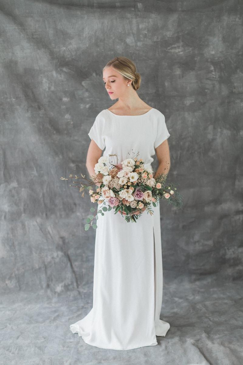 Atemberaubend Gedruckte Hochzeitskleid Zeitgenössisch - Hochzeit ...