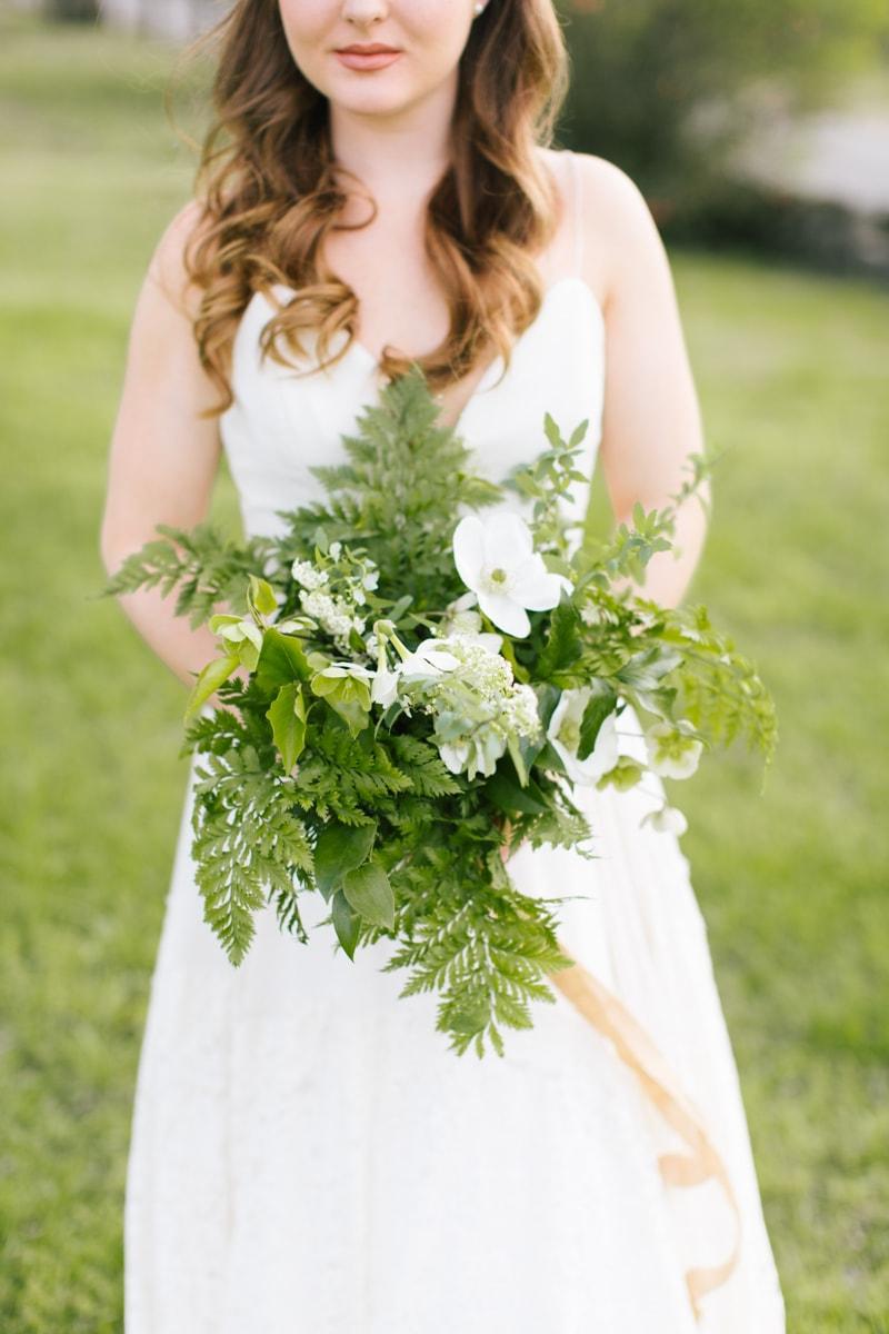 greenery styled shoot