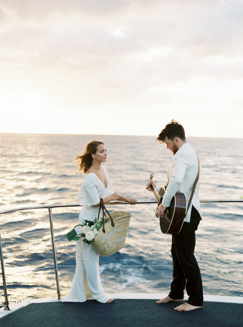 Waikiki Hawaii Wedding Inspiration