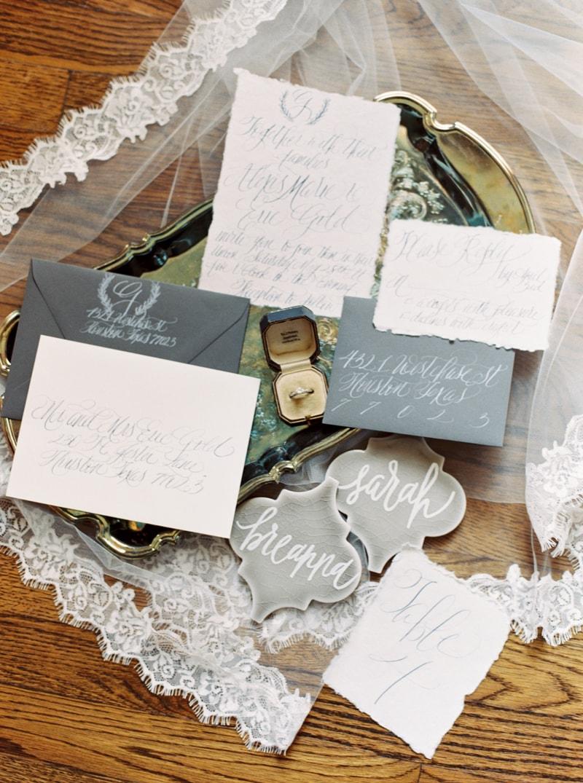 Garden Wedding Inspiration in Houston — Trendy Bride - Fine Art ...
