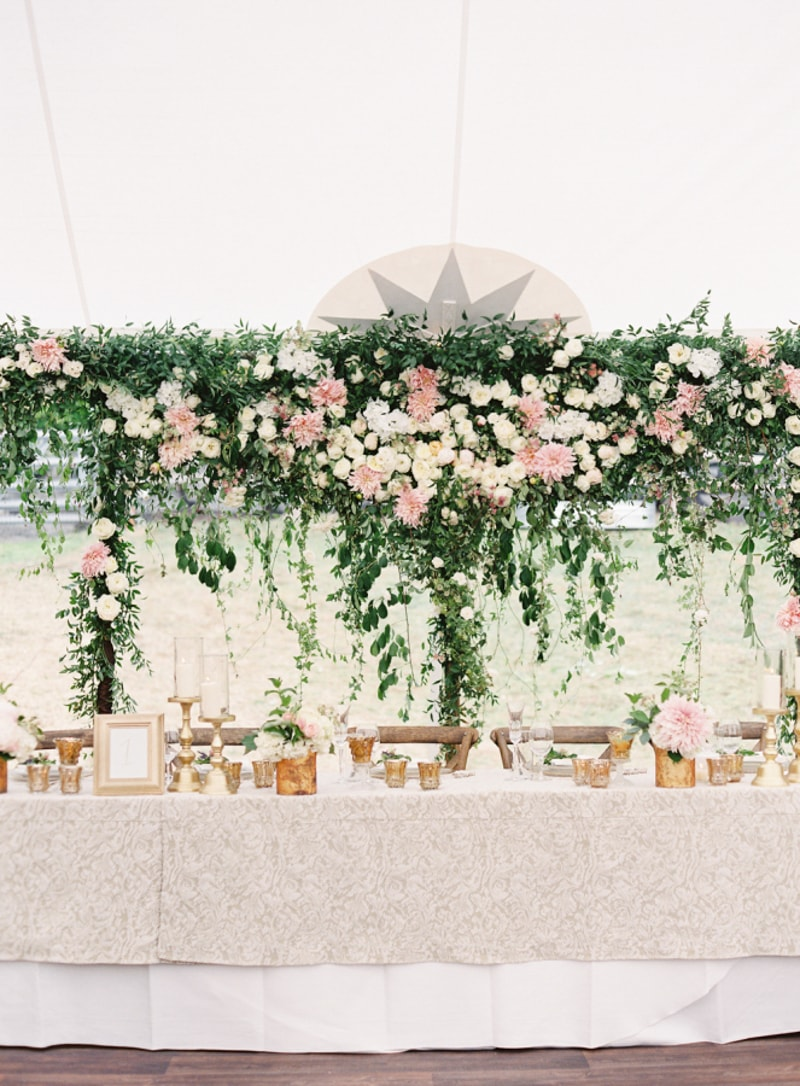 Head table ideas trendy bride fine art wedding blog planning head table ideas junglespirit Image collections