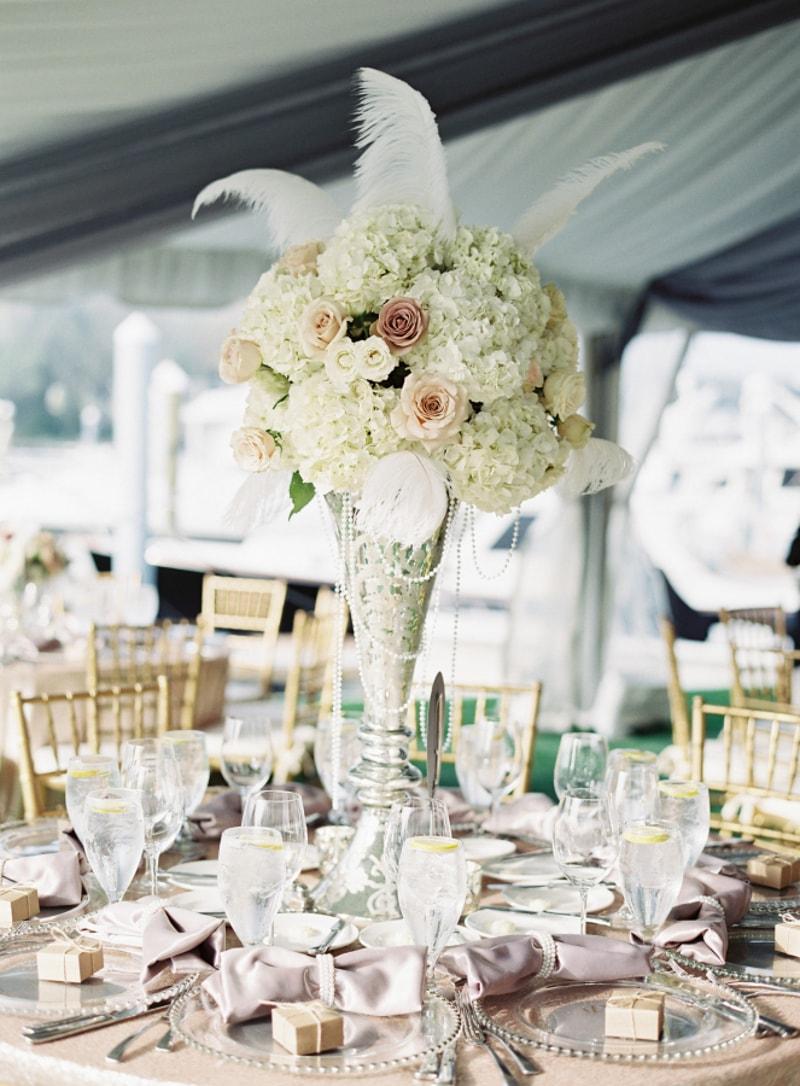 Feather Wedding Ideas Trendy Bride