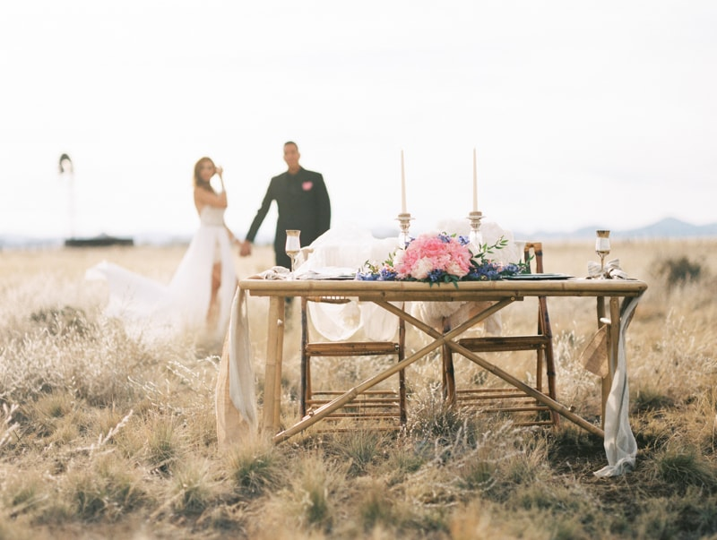 desert wedding shoot