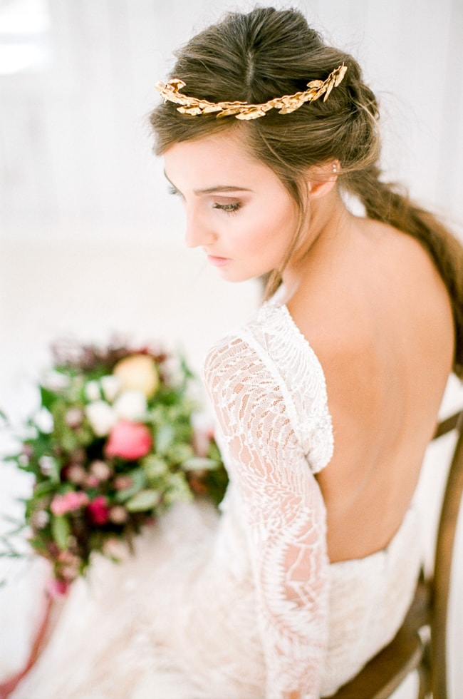 european styled shoot