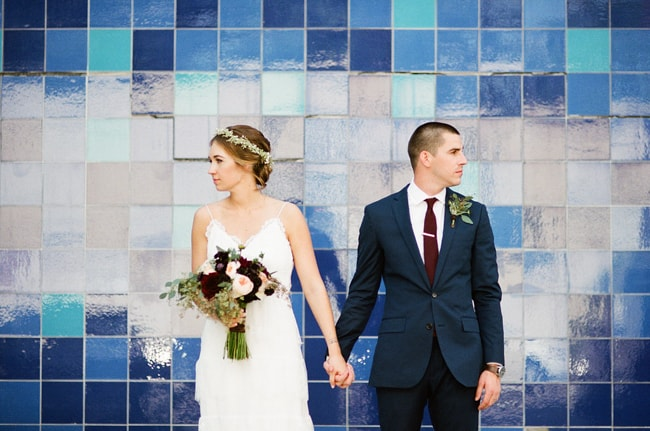 The ceremony took place inside of Palm Door on Sabine which is a unique urban-style loft that boasts white walls an open floor place and vaulted ceiling.  sc 1 st  Trendy Bride & Palm Door Texas Real Wedding \u2014 Trendy Bride - Fine Art Wedding Blog ...