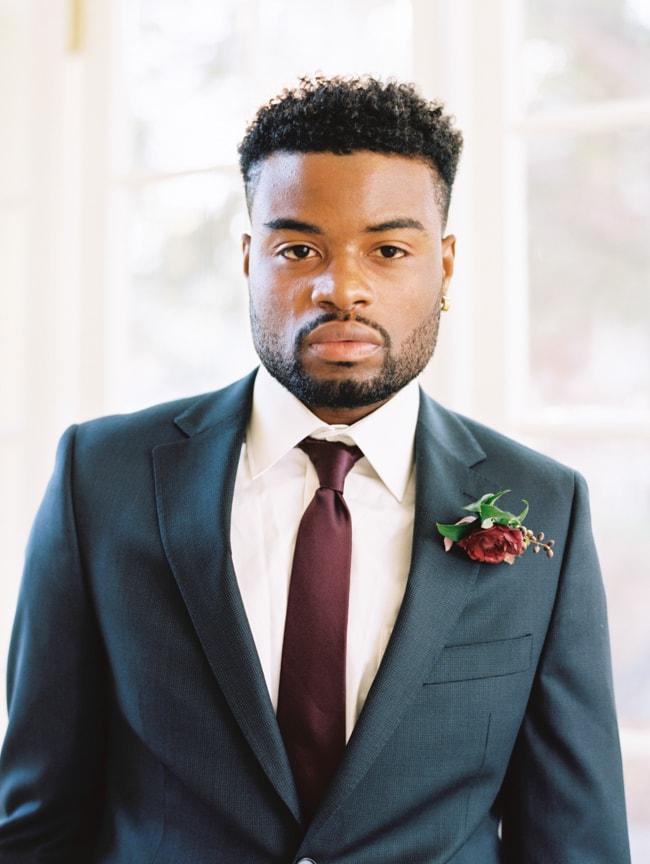 black groom