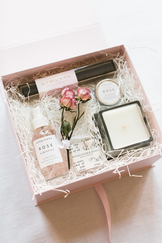 Unique Welcome Gifts Trendy Bride Fine Art Wedding Blog